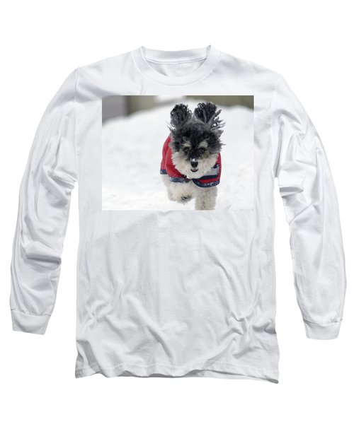 Snow Charge Long Sleeve T-Shirt