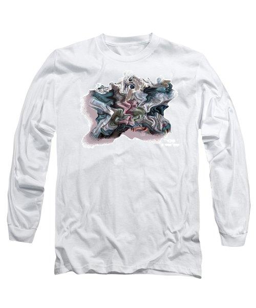 Snow Capped Cloth Long Sleeve T-Shirt