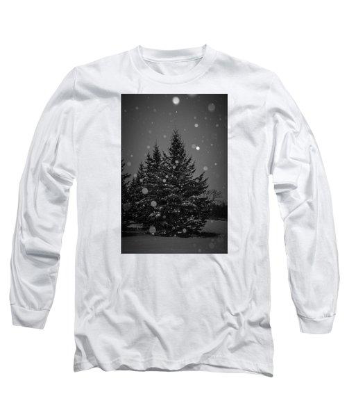 Snow Flakes Long Sleeve T-Shirt