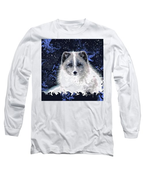 Snow Fox Long Sleeve T-Shirt