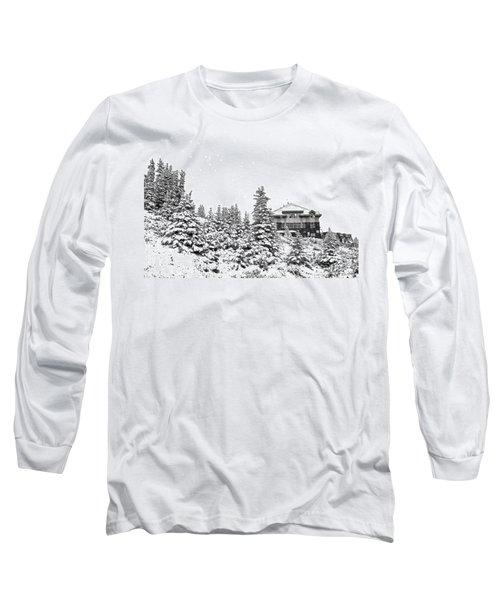 Snow In July 2 Long Sleeve T-Shirt by Teresa Zieba