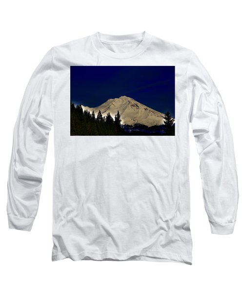 Snow On Shasta Long Sleeve T-Shirt