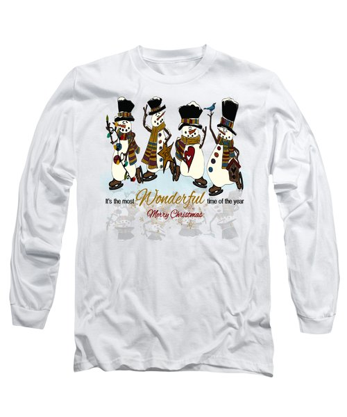 Snow Play Long Sleeve T-Shirt by Tami Dalton