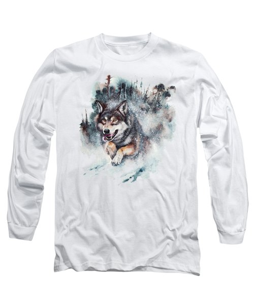 Snow Storm Long Sleeve T-Shirt