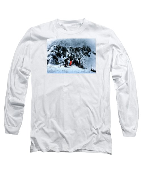 Long Sleeve T-Shirt featuring the photograph Snowbird by Jim Hill