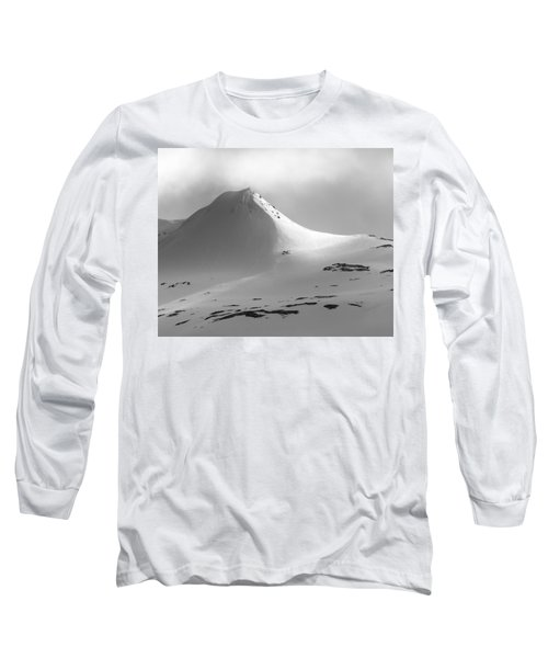 Snowy Peak Over Grundarfjordur Long Sleeve T-Shirt