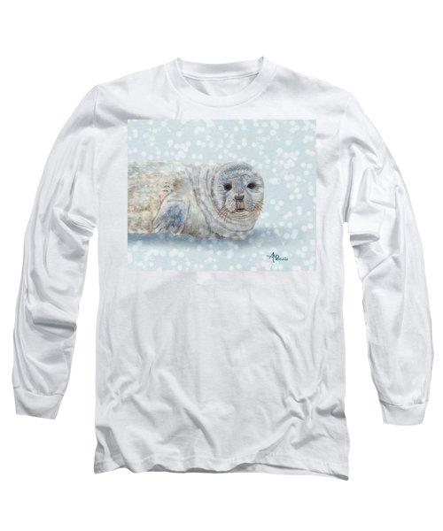 Snowy Seal Long Sleeve T-Shirt