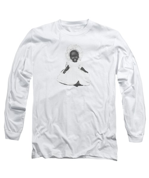 So Clean And White Long Sleeve T-Shirt