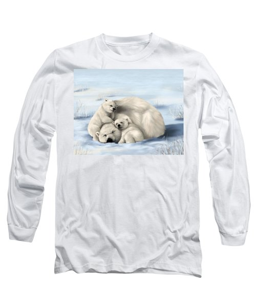 Long Sleeve T-Shirt featuring the painting So Much Love by Veronica Minozzi