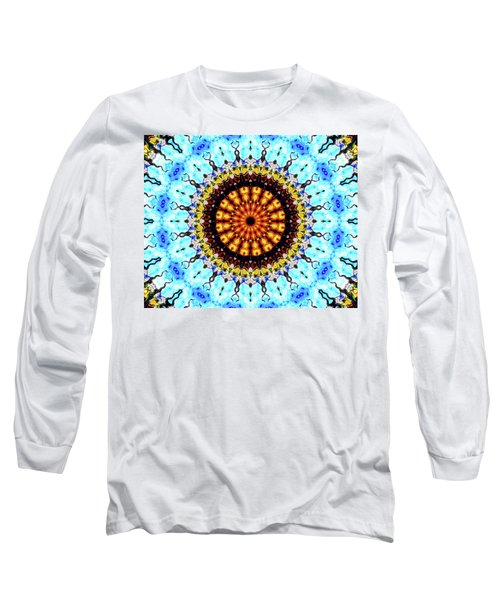Long Sleeve T-Shirt featuring the digital art Solar Flare 1 by Wendy J St Christopher