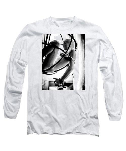 Long Sleeve T-Shirt featuring the photograph Solar Jail by Stwayne Keubrick