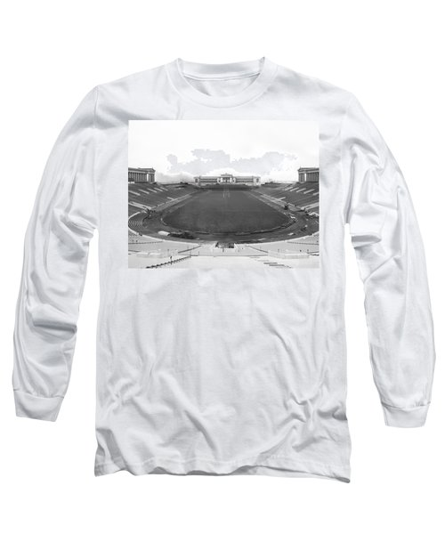 Soldier Field In Chicago Long Sleeve T-Shirt
