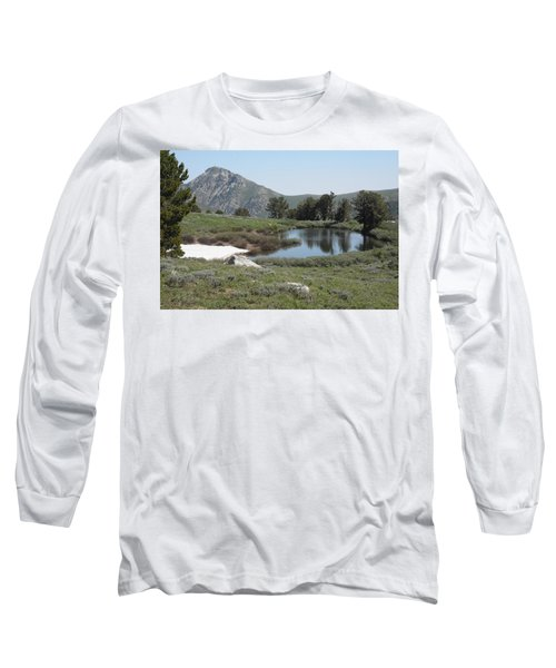 Soldier Lake And Peak Long Sleeve T-Shirt by Jenessa Rahn