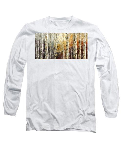 Solitudes Of Twilight Long Sleeve T-Shirt by Tatiana Iliina