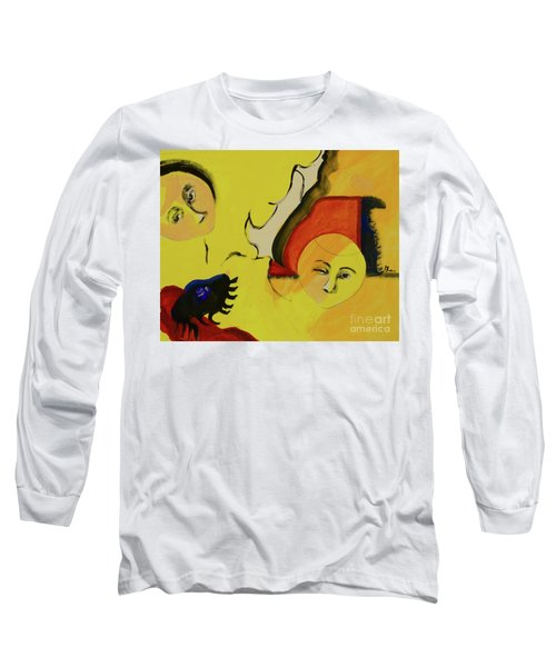 Long Sleeve T-Shirt featuring the painting Solstice by Paul McKey