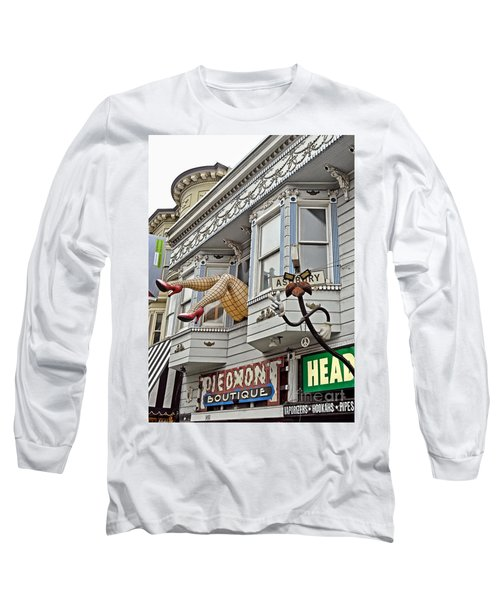 Something To Find Only The In The Haight Ashbury Long Sleeve T-Shirt