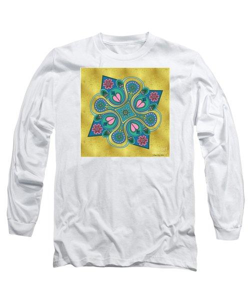 Something3 Long Sleeve T-Shirt by Megan Dirsa-DuBois