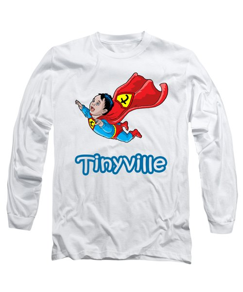 Long Sleeve T-Shirt featuring the digital art Son Of Superman by Anthony Mwangi