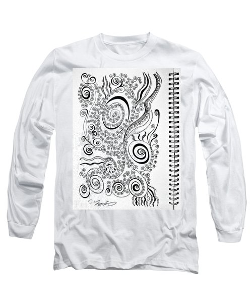 Sound Of The Lines Long Sleeve T-Shirt