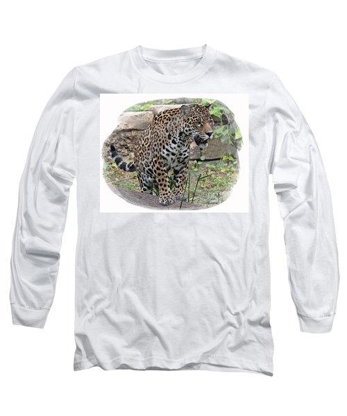 South American Jaguar Long Sleeve T-Shirt