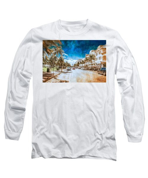 South Beach Road Long Sleeve T-Shirt