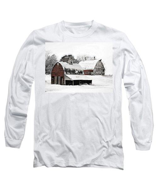 South Dakota Farm Long Sleeve T-Shirt