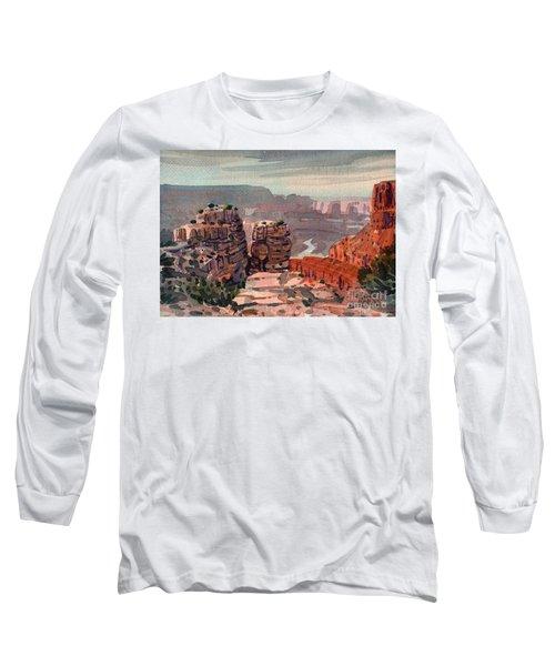 South Rim Long Sleeve T-Shirt by Donald Maier