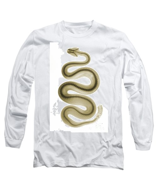 Southern Pacific Rattlesnake, X-ray Long Sleeve T-Shirt