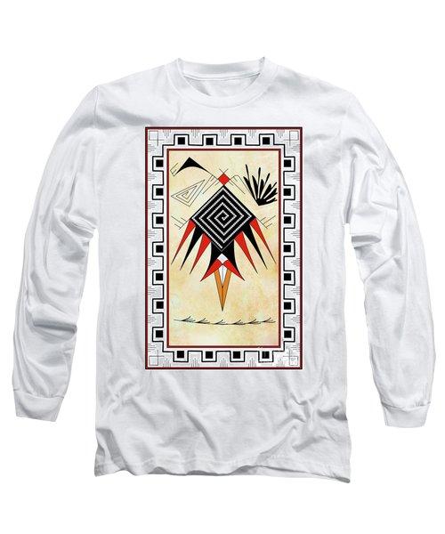 Southwest Bird Long Sleeve T-Shirt