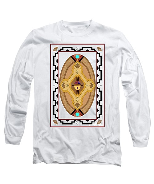 Southwest Collection - Oval Design Long Sleeve T-Shirt