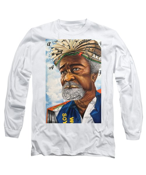Soyinka An African Literary Icon Long Sleeve T-Shirt