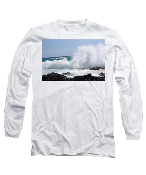 Sp-lash Long Sleeve T-Shirt by Karen Nicholson