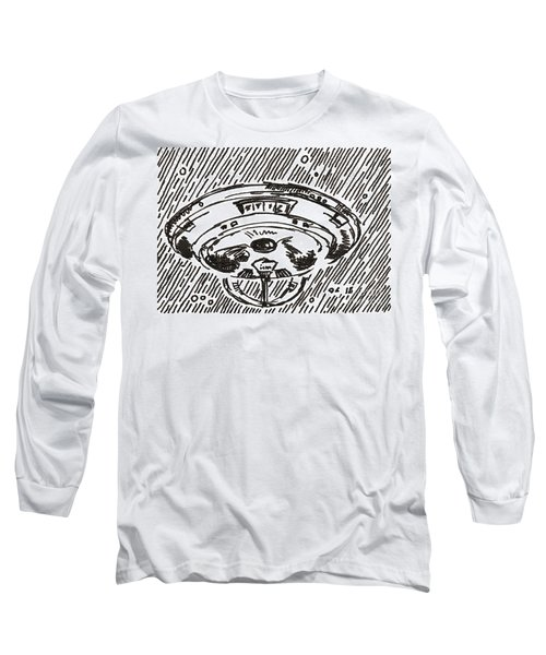 Space 2 2015 - Aceo Long Sleeve T-Shirt by Joseph A Langley