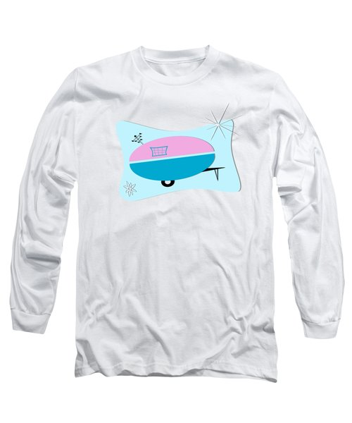Space Age Camper Long Sleeve T-Shirt