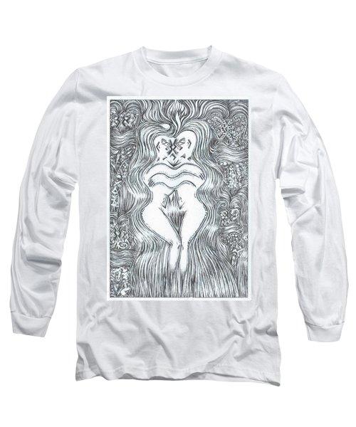 Space Dance Long Sleeve T-Shirt