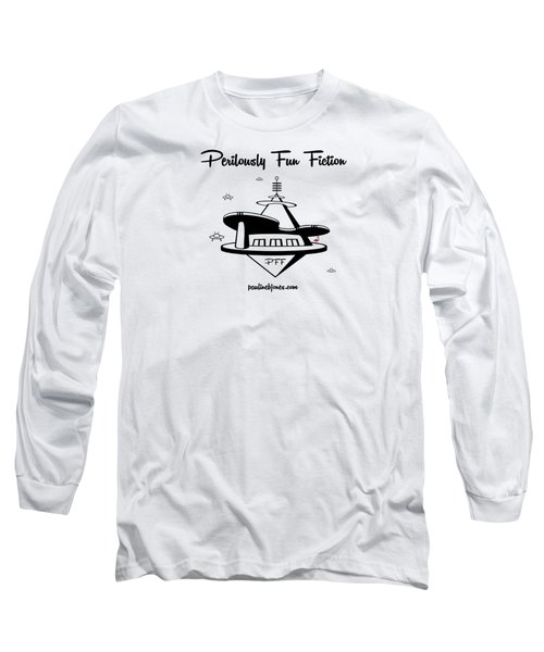 Space Station Long Sleeve T-Shirt by Ana Baird