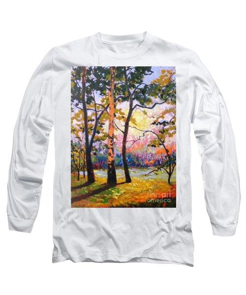Spanaway Pond Long Sleeve T-Shirt