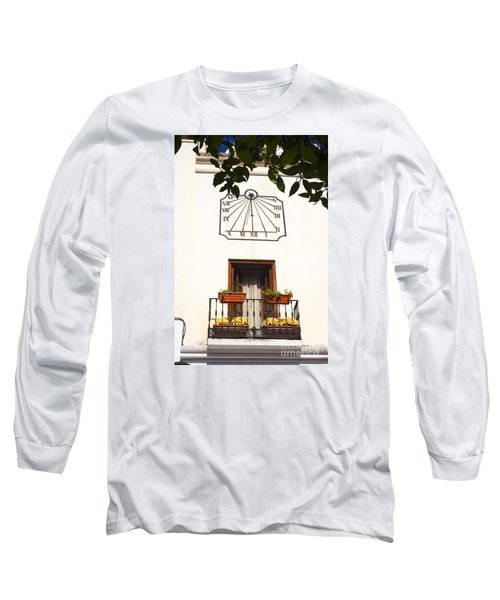Spanish Sun Time Long Sleeve T-Shirt