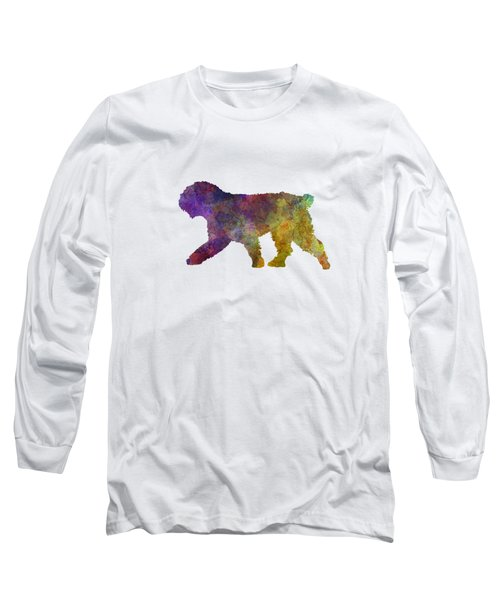 Spanish Water Dog In Watercolor Long Sleeve T-Shirt
