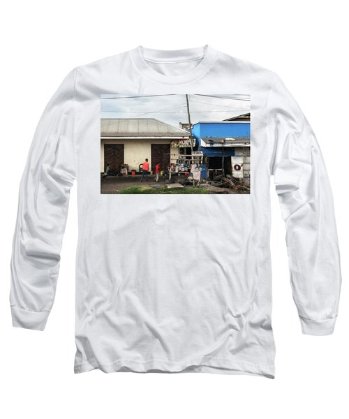 Spare Parts And Shoes Shine Long Sleeve T-Shirt