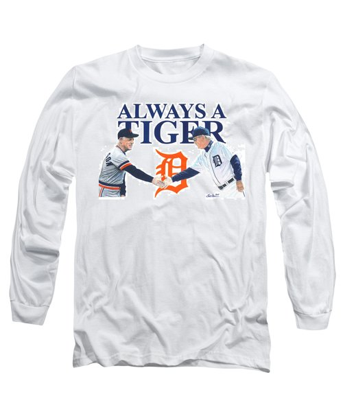 Sparky Anderson And Jim Leyland Long Sleeve T-Shirt