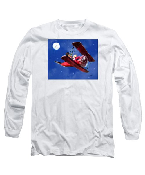 Special Delivery For Grandma Long Sleeve T-Shirt by Colleen Taylor
