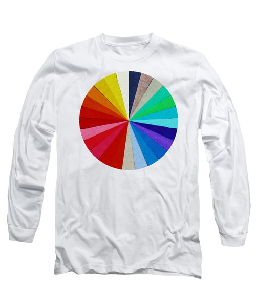 Spectrum From The Colored Beads Long Sleeve T-Shirt