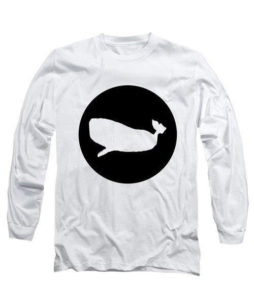 Sperm Whale Long Sleeve T-Shirt by Mordax Furittus