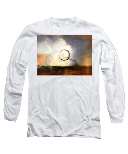 Sphere I Turner Long Sleeve T-Shirt by David Bridburg