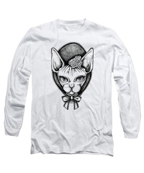 Sphynx Lady Long Sleeve T-Shirt