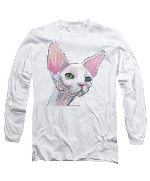 Sphynx2 Long Sleeve T-Shirt by Akiko Okabe