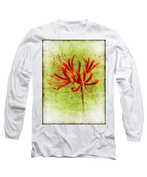 Spider Lily Long Sleeve T-Shirt