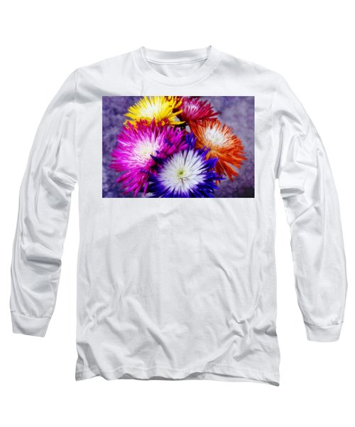 Spider Mums Long Sleeve T-Shirt