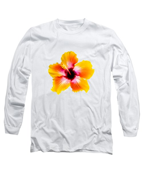 Spin The Bottle Hibiscus Long Sleeve T-Shirt